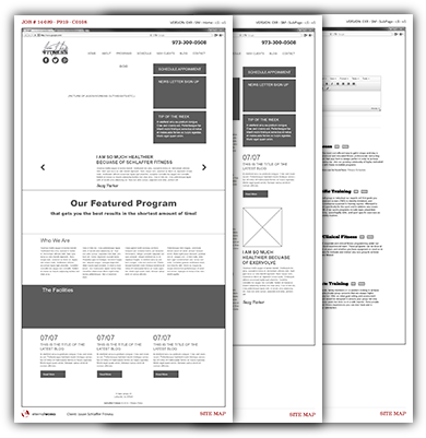 portfolio-exervolve-wireframes
