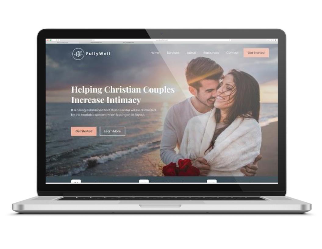 Web Design Portfolio Template
