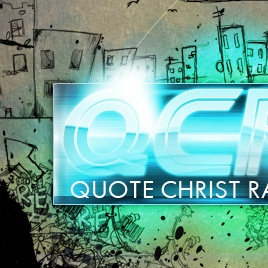 An image of the Quote Christ Radio Logo that links to the web design project by Eternal Works